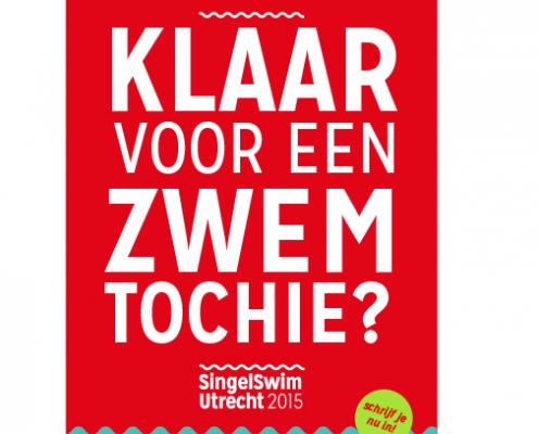Utrechtse singelswim zwemtocht voor het goede doel